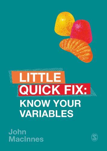 Know Your Variables: Little Quick Fix - Little Quick Fix (Paperback)