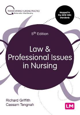 Law and Professional Issues in Nursing - Transforming Nursing Practice Series (Paperback)