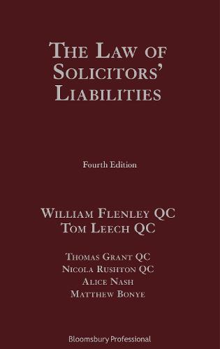 Solicitors' Liability (Hardback)