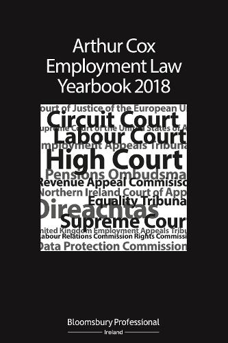 Arthur Cox Employment Law Yearbook 2018 (Paperback)