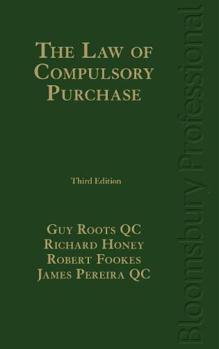 The Law of Compulsory Purchase (Hardback)