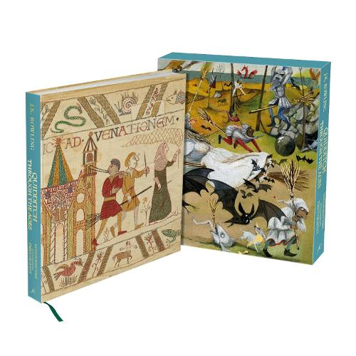 Quidditch Through the Ages - Illustrated Edition: Deluxe Illustrated Edition (Hardback)