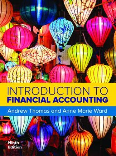 Introduction to Financial Accounting 9/e (Paperback)