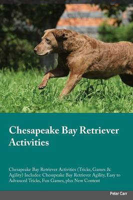 Chesapeake Bay Retriever Activities Chesapeake Bay Retriever Activities (Tricks, Games & Agility) Includes: Chesapeake Bay Retriever Agility, Easy to Advanced Tricks, Fun Games, Plus New Content (Paperback)