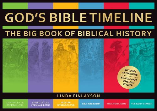 God's Bible Timeline: The Big Book of Biblical History (Hardback)