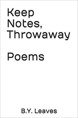 Keep Notes, Throwaway Poems (Paperback)