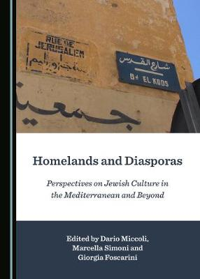 Homelands and Diasporas: Perspectives on Jewish Culture in the Mediterranean and Beyond (Hardback)