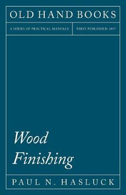 Wood Finishing (Paperback)