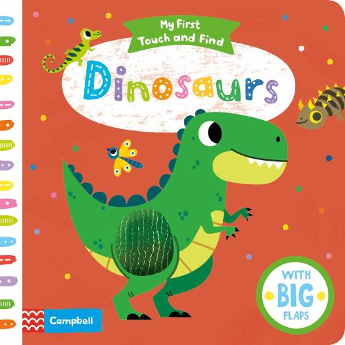 Dinosaurs - My First Touch and Find (Board book)