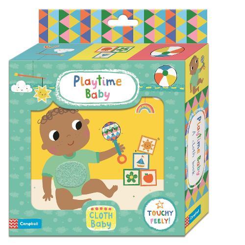 Playtime Baby Cloth Book (Rag book)