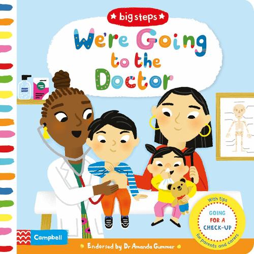 We're Going to the Doctor: Going For A Check-Up - Big Steps (Board book)
