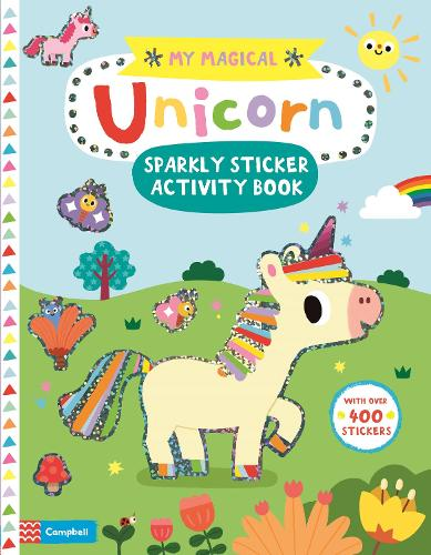 My Magical Unicorn Sparkly Sticker Activity Book - My Magical (Paperback)