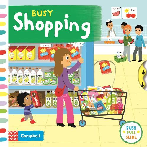 Busy Shopping - Busy Books (Board book)