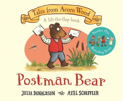 Postman Bear - Tales From Acorn Wood (Board book)