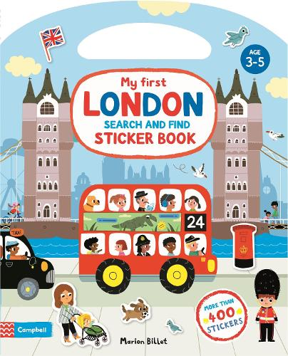 My First Search and Find London Sticker Book - Campbell London Range (Paperback)