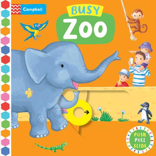 Busy Zoo - Campbell Busy Books (Board book)