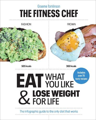 The Fitness Chef: Eat What You Like & Lose Weight For Life - The infographic guide to the only diet that works (Hardback)