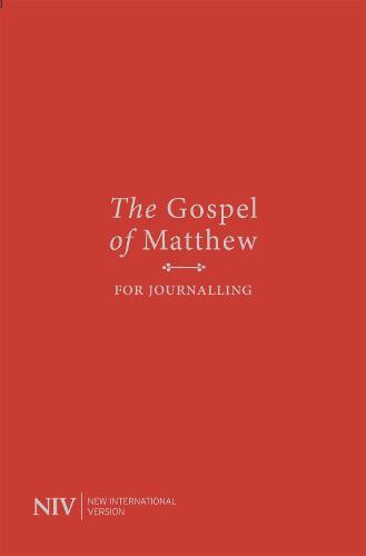 NIV Gospel of Matthew for Journalling (Paperback)