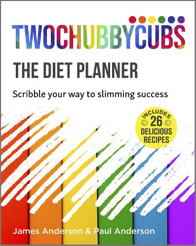 Twochubbycubs The Diet Planner: Scribble your way to Slimming Success (Paperback)
