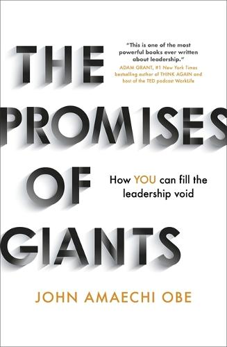 The Promises of Giants: How YOU can fill the leadership void --THE SUNDAY TIMES HARDBACK NON-FICTION & BUSINESS BESTSELLER-- (Hardback)