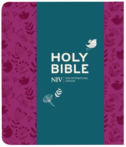 NIV Journalling Plum Soft-tone Bible with Clasp - New International Version (Paperback)