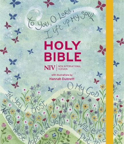 NIV Journalling Bible Illustrated by Hannah Dunnett (new edition) (Hardback)