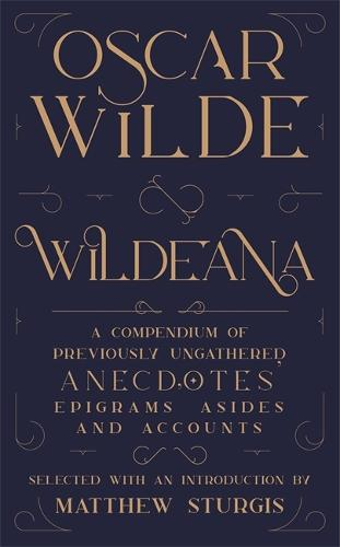 Wildeana (riverrun editions) (Hardback)