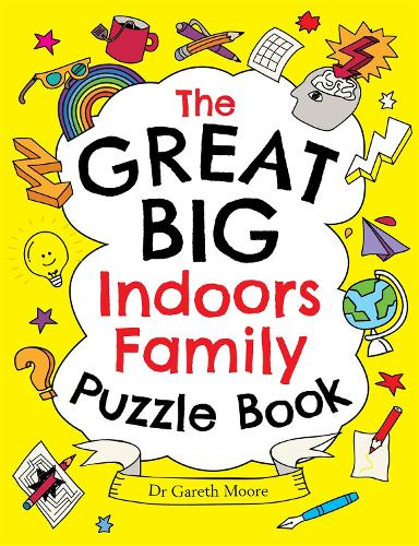 The Great Big Indoors Family Puzzle Book (Paperback)