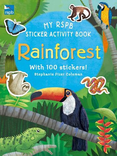 My RSPB Sticker Activity Book: Rainforest (Paperback)