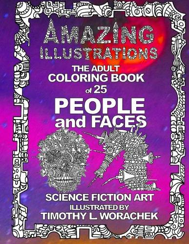 Amazing Illustrations-PEOPLE and FACES (Paperback)