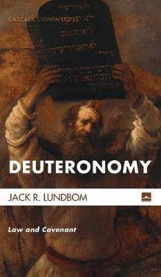 Deuteronomy - Cascade Companions 35 (Hardback)