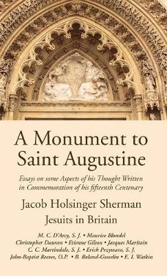 A Monument to Saint Augustine (Hardback)