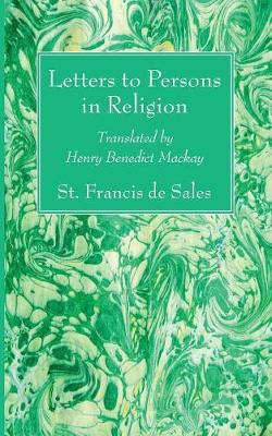 Letters to Persons in Religion (Paperback)
