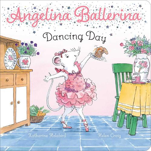 Dancing Day - Angelina Ballerina (Board book)