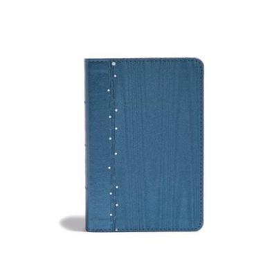 CSB On-the-Go Bible, Slate Blue (Leather / fine binding)