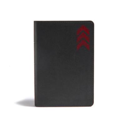KJV On-the-Go Bible, Charcoal Arrow (Leather / fine binding)