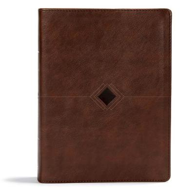 CSB Day-by-Day Chronological Bible, Brown Leathertouch (Leather / fine binding)