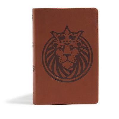 CSB Kids Bible, Lion LeatherTouch (Leather / fine binding)