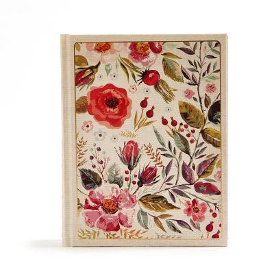 CSB Notetaking Bible, Floral Cloth-Over-Board (Hardback)
