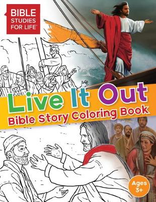 Live It Out Bible Story Coloring Book (Paperback)