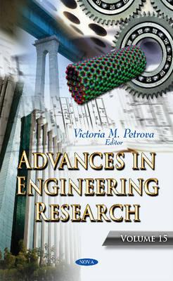 Advances in Engineering Research: Volume 15 (Hardback)