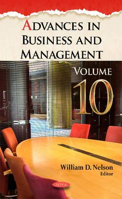 Advances in Business & Management: Volume 10 (Hardback)