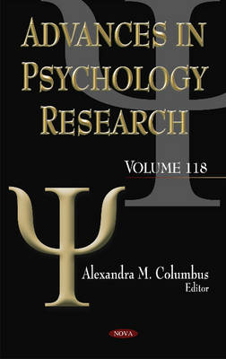 Advances in Psychology Research: Volume 118 (Hardback)