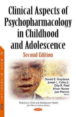 Clinical Aspects of Psychopharmacology in Childhood & Adolescence (Hardback)