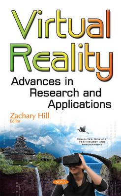 Virtual Reality: Advances in Research & Applications (Hardback)