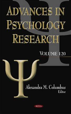 Advances in Psychology Research: Volume 120 (Hardback)