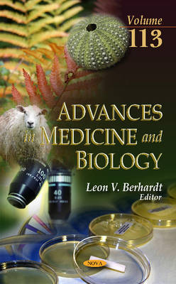 Advances in Medicine & Biology: Volume 113 (Hardback)