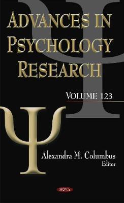 Advances in Psychology Research: Volume 123 (Hardback)
