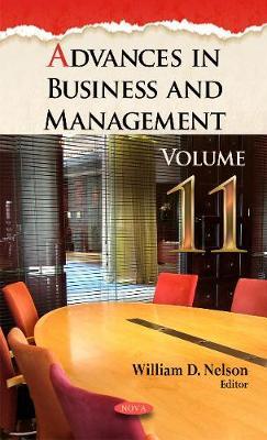 Advances in Business & Management: Volume 11 (Hardback)