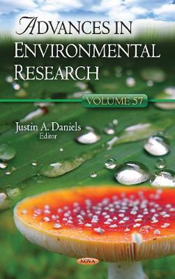 Advances in Environmental Research: Volume 57 (Hardback)